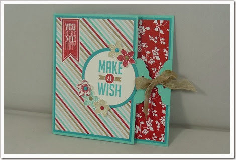 Tag Topper Punch Card, Perfect Pennants, Petite Petals, Fresh Prints, Amanda Bates, The Craft Spa