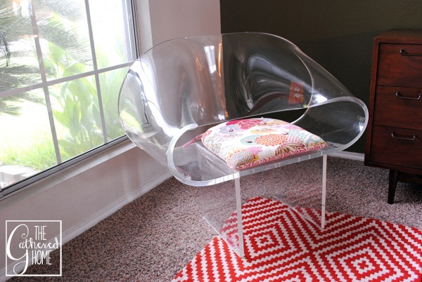 van horn lucite ribbon chair 3