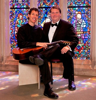 Joseph Pecoraro, guitarist, and Anthony Dean Griffey, tenor