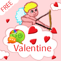 Valentine Day Amor for GO SMS icon
