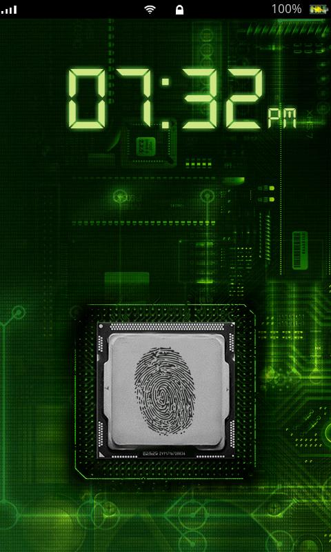 Fingerprint Scanner Lock - screenshot
