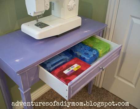 Sewing Table Makeover (8)