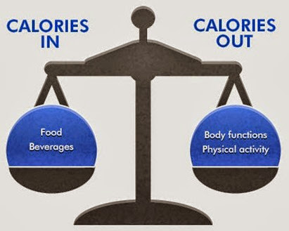 Total calorie requirement calculation