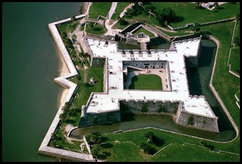 04 - Castillo de San Marcos overhead photo from internet