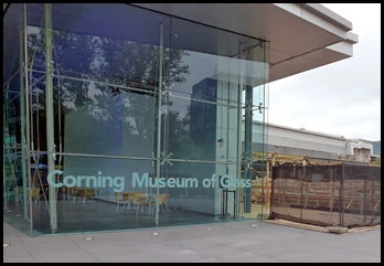 02 - Corning Glass Museum - Entrance and Construction