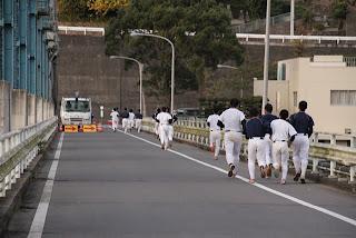 池田高校野球部のトレーニング風景・その2