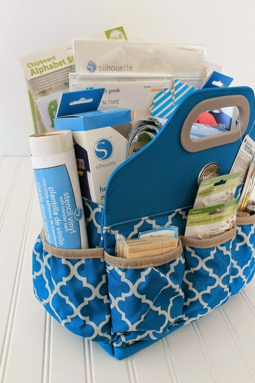 giveaway basket #crafts