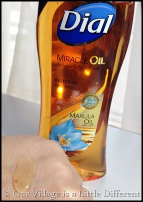 Dial Miracle Oil Body Wash Marula Oil Infused