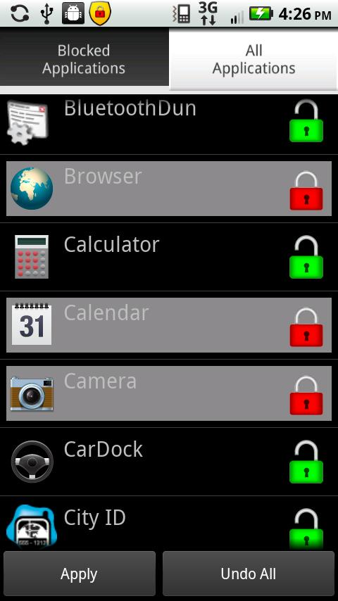 My Remote Lock with App Lock - screenshot