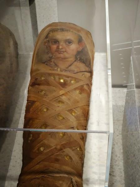 Muzeul Nou Berlin: Mumie romano-egipteana