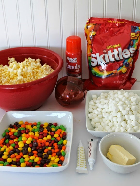 popcorn ball ingredients