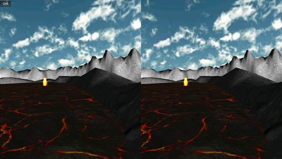 Durovis Dive Volcano VR Demo - screenshot thumbnail