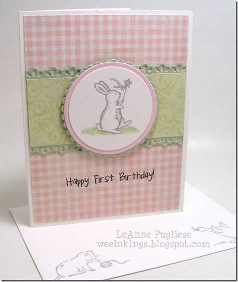 LeAnne Pugliese WeeInklings First Birthday Storybook Friends