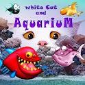 WhiteCat and Aquarium