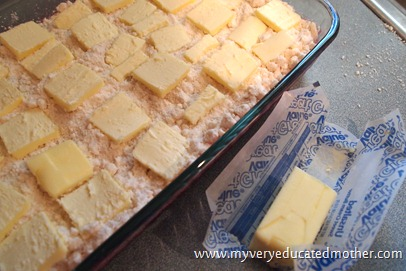 @mvemother Classic Dump Cake #recipes #butter