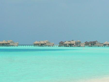 Plaje Thailanda: water villas Maldive
