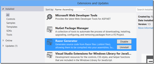 Asp net MVC: reuse Areas from external project