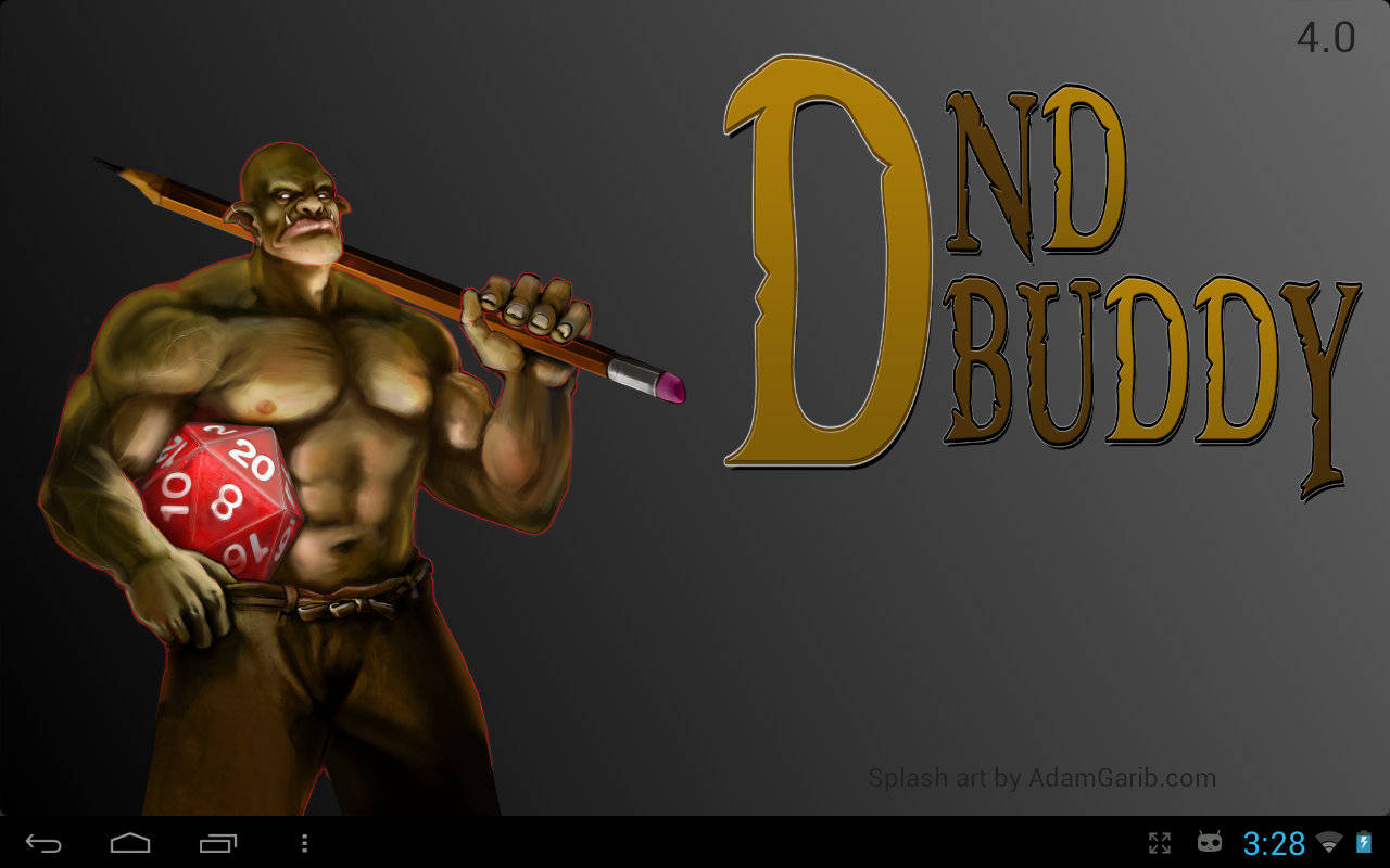 DnD Buddy - screenshot