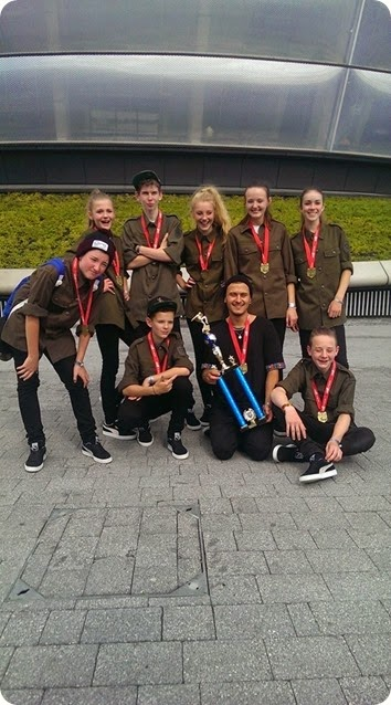 XCELL street dance crew – 4th place