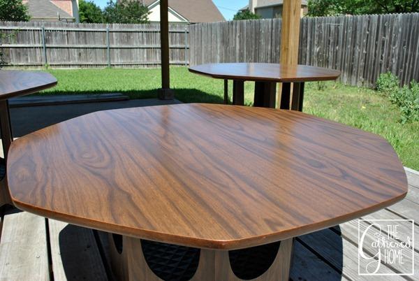 mid century brasilia style coffee table top