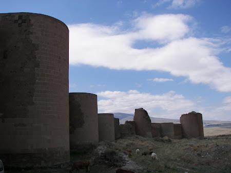 Obiective turistice Anatolia: citadela Ani