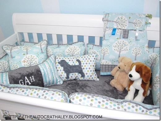 PUPPIES IN THE PARK CRIB SET (2)