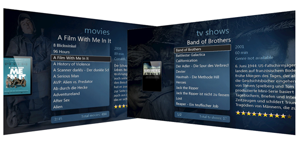 XBMC4STB project by Vu