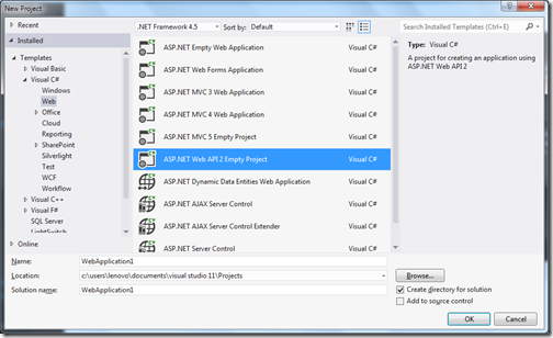 ASPNETWebAPI2VisualStudio2012ProjectTemplate