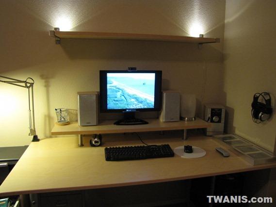 Twanis The Best Computer Desk Setup From Ikea