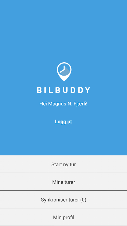 Bilbuddy- screenshot