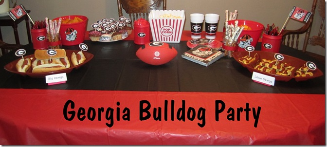 Georgia Bulldog Party