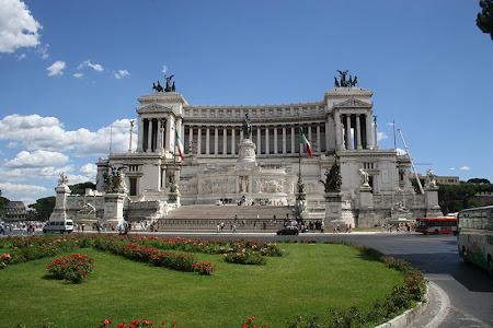Obiective turistice Roma: Altare della Patria