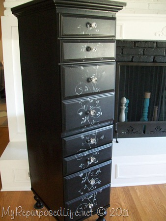 How To Make A Tall Lingerie Chest From An Old Desk