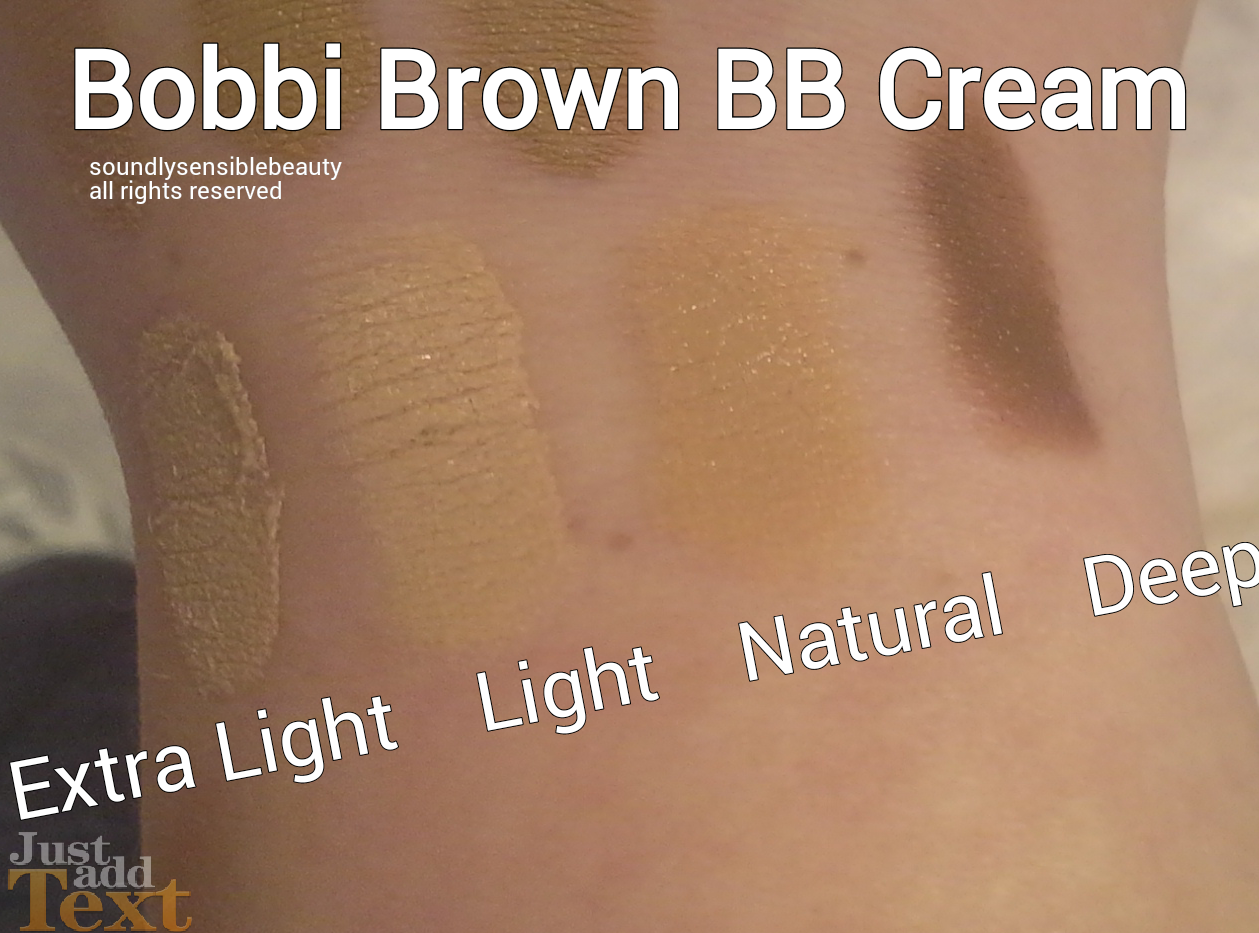Bobbi Brown Bb Cream Review Swatches Of Shades