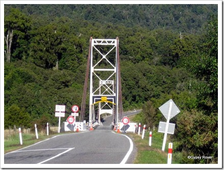 There are a few of these suspension bridges on the West Coast.