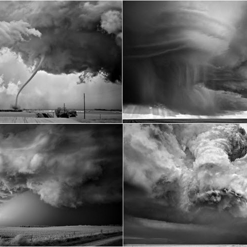 Beautiful Black & White Storm Photography by Mitch Dobrowner