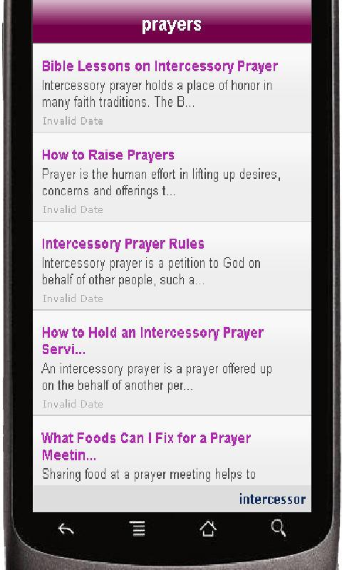 Prayers - screenshot