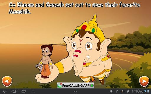 BheemandGaneshaActionComic screenshot