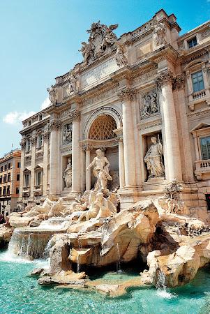 Obiective turistice Roma: Fontana din Trevi