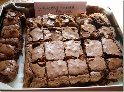 gluten free chocolate brownies3