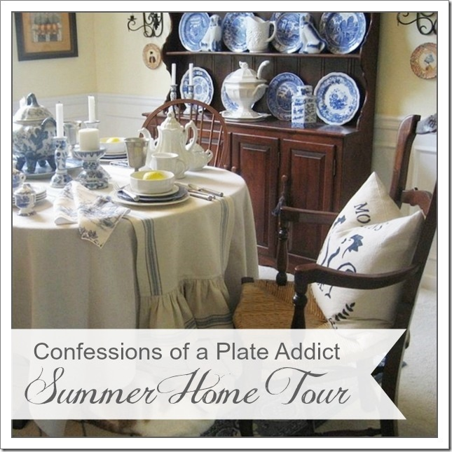 CONFESSIONS OF A PLATE ADDICT Summer  Home Tour