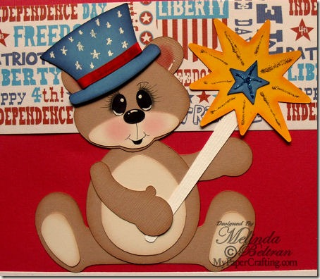 full bear paper piecing cu-450 born in usa