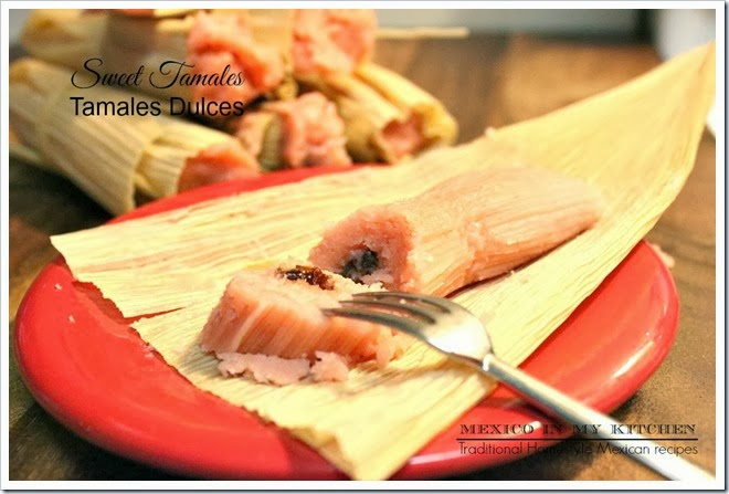 Sweet Tamales quick and easy