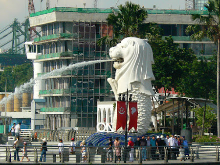 Tari sub dictatura: Merlion Singapore