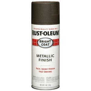 rustoleum bright coat metallic finish dark bronze
