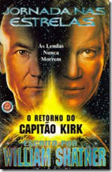 fotos do capitão Kirk - o clássico e o mais recente