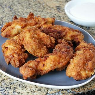 Spicy Fried Chicken Strips.