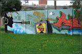 Grafitti in der Puschkinstraße (Herr Rossi)
