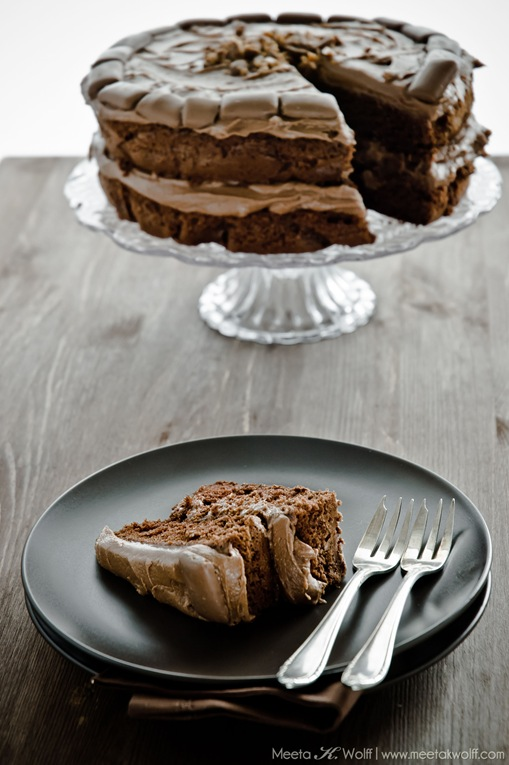 Chocolate Ovamaltine Daim Cake by Meeta K. Wolff