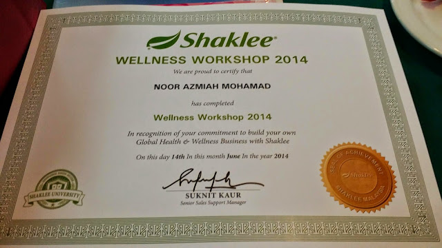 Bengkel Nutrisi, Wellness workshop, aktiviti shaklee, gmg group, produk shaklee